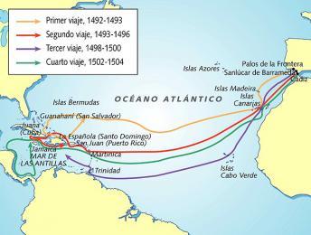 Objevné plavby Kryštofa Kolumba