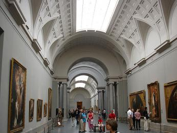 Interiér Muzea Prado
