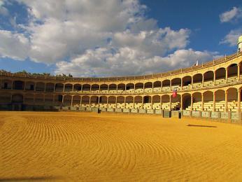 Býčí aréna vRondě patří mezi nejstarší ve Španělsku