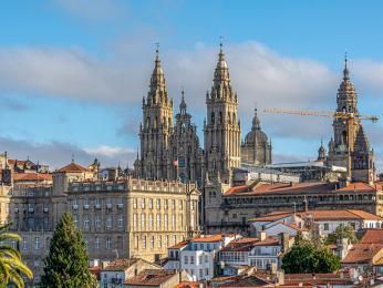 Santiago de Compostela v Galicii