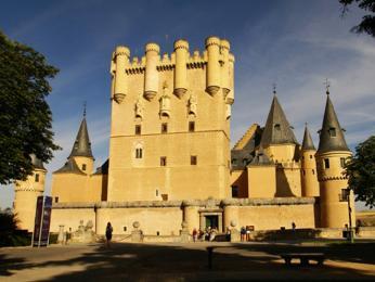 Pohádkový Alcázar v Segovii