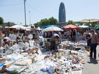 Tržiště Encants vBarceloně