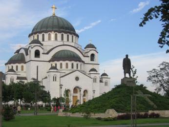 Kostel svatého Sávy v Bělehradě