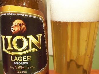 Pivo je na Srí Lance běžným nápojem, nejvíce se pije pivo značky Lion Lager