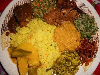 Rýže a kari je označováno za základní jídlo srílanské kuchyně