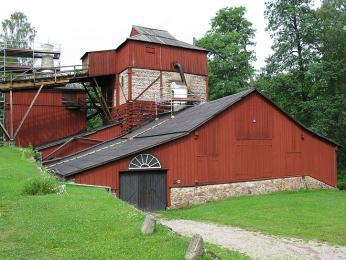 Historická huť Engelsbergs bruk, založená roku1681