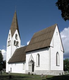 Kostel vGarde (Gotland)