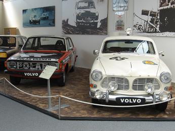Muzeum Volvo vGöteborgu
