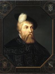 Portrét Gustava I.Vasy