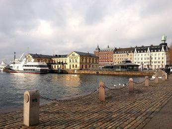 Nábřeží vHelsingborgu