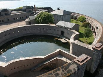 Pevnost Kungsholm u Karlskrony