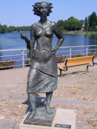 Socha Sola i Karlstad, symbol města