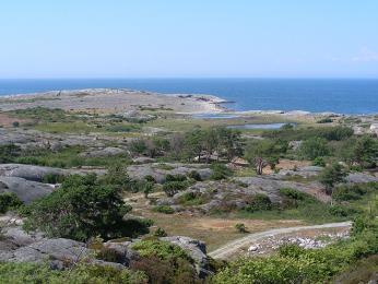 Severní část NP Kosterhavet na západním pobřeží Švédska