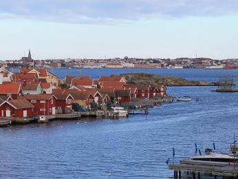 Lysekil stejně jako mnoho dalších městeček na západním pobřeží představuje učiněný ráj pro rybáře