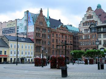 Velké náměstí (Stortorget) vMalmö