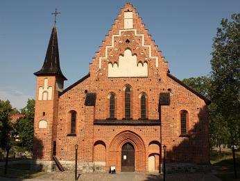 Gotický chrám Mariakyrkan vSigtuně