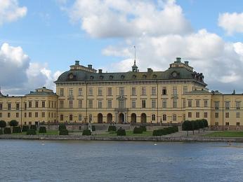 Zámek Drottningholm, sídlo švédské královské rodiny