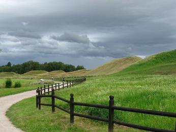 Oblast Staré Uppsaly doslova dýchá historií