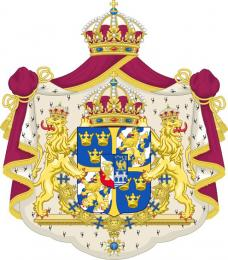 Velký státní znak Švédského království