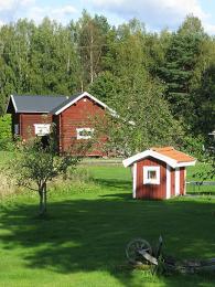 Červeně natřené domečky a dokonalý pořádek – tak vypadá švédský venkov