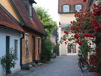 Gotlandské růže ve Visby