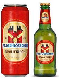 Nejznámější značkou švýcarského piva je Feldschlössen