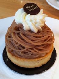 Kaštanový dezert Vermicelle