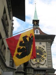 Symbolem Bernu je medvěd
