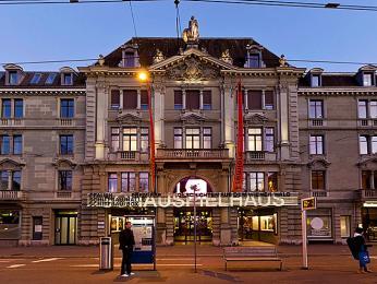 Curych se pyšní jedním znejvýznamnějších divadel vněmecky mluvících zemích - Schauspielhaus