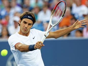Švýcar Roger Federer bývá označován za nejlepšího hráče historie tenisu