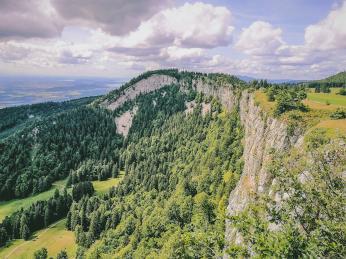 Vpohoří Jura byly vroce2009 objeveny největší dinosauří stopy na světě