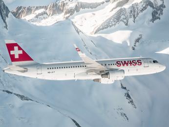 Švýcarský letecký dopravce Swiss létá mezi Prahou a Curychem