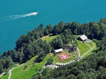 Na louce Rütli u Lucernského jezera bylo založeno Švýcarské spříseženstvo