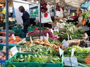 Nejen zeleninu aovoce seženete na farmářských trzích