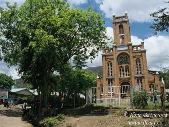 Kostel ve městě Mbeya