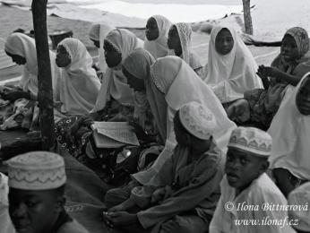 Odpolední výuka v madrase – muslimské škole