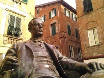 Lucca je rodištěm slavného italského skladatele Giacoma Pucciniho