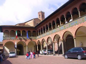 Casa di Santa Caterina – rodný dům svaté Kateřiny