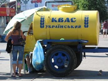 Kvas se nejčastěji prodává jen tak na ulici rovnou zcisterny