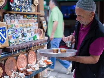 Na sarajevském bazaru