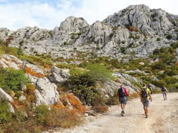 Výšlapv pohoří Velebit cestou na Tulove Grede