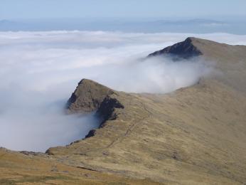 Druhý nejvyšší vrchol Irska Mt. Brandon