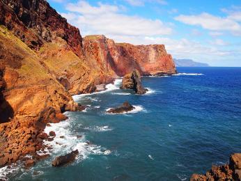 Nejvýchodnějším výběžkem Madeiry je mys São Lourenço