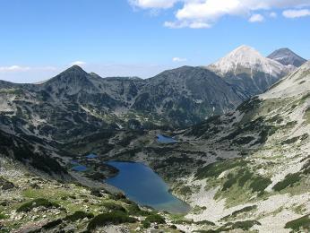 Pohoří Pirin nese jméno po bohu bouře ablesků Perunovi