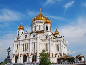 Chrám Krista Spasitele v Moskvě