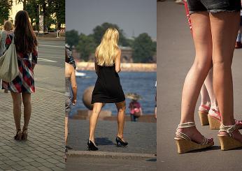 Vysoké podpatky - znak ruských žen adívek