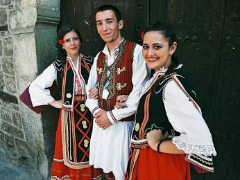 Makedonský tradiční kroj
