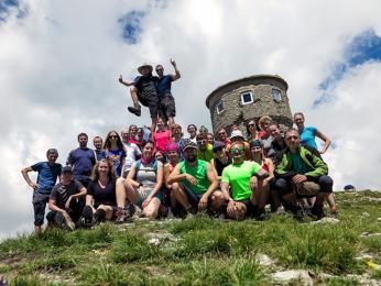 Neohrožení horalové na 2 748 metrů vysokém Titově vrchu