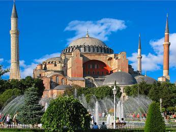 Istanbul - chrám Hagia Sofia