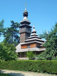 Kostelík sv. Michala je klenotem skanzenu v Užhorodě